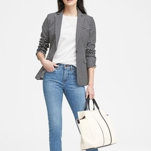 Banana Republic  Fitted Crop Heathered